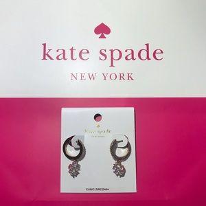 NWT Kate Spade Flower Drop earrings